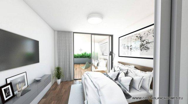 Appartement s 226 costa blanca - Vliegtuig badkamer m ...