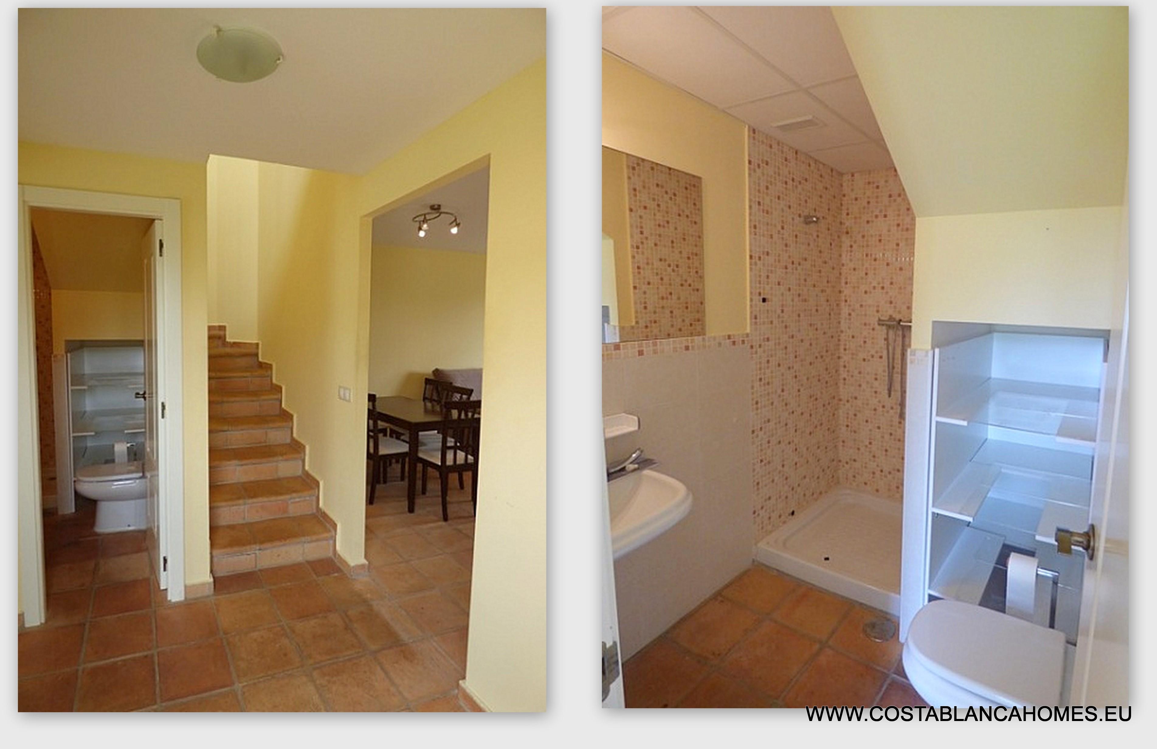 Finestrat townhouse r 183 costa blanca - Vliegtuig badkamer m ...
