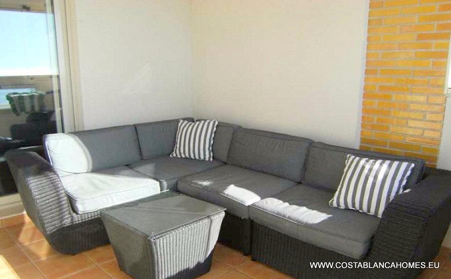 Benidorm appartement r 186 costa blanca - Vliegtuig badkamer m ...