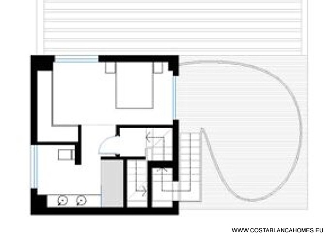 Polop villa s 809 costa blanca - Vliegtuig badkamer m ...