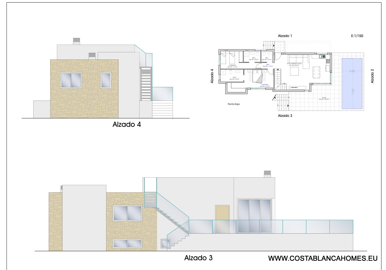 Finestrat benidorm villa s 416 costa blanca - Vliegtuig badkamer m ...