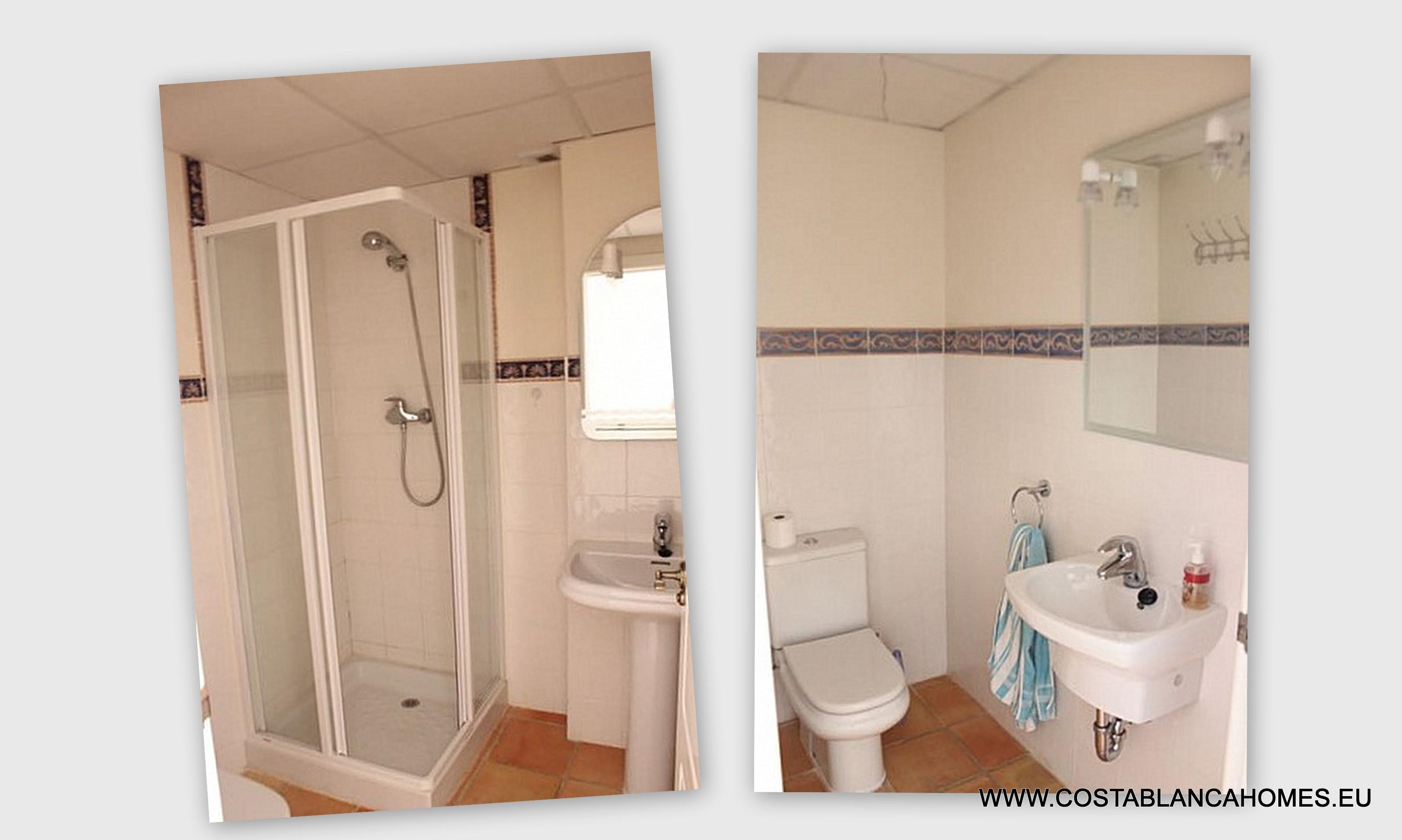 Finestrat townhouse s 131 costa blanca - Vliegtuig badkamer m ...