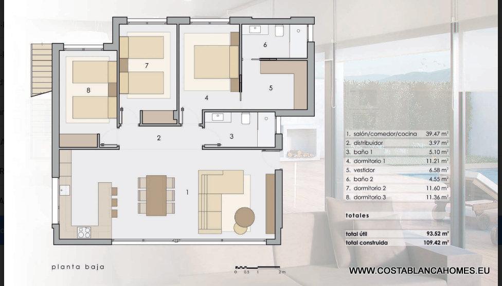 Polop villa s 413 costa blanca - Vliegtuig badkamer m ...