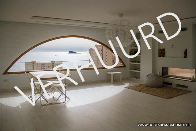 Benidorm penthouse r 163 costa blanca - Vliegtuig badkamer m ...